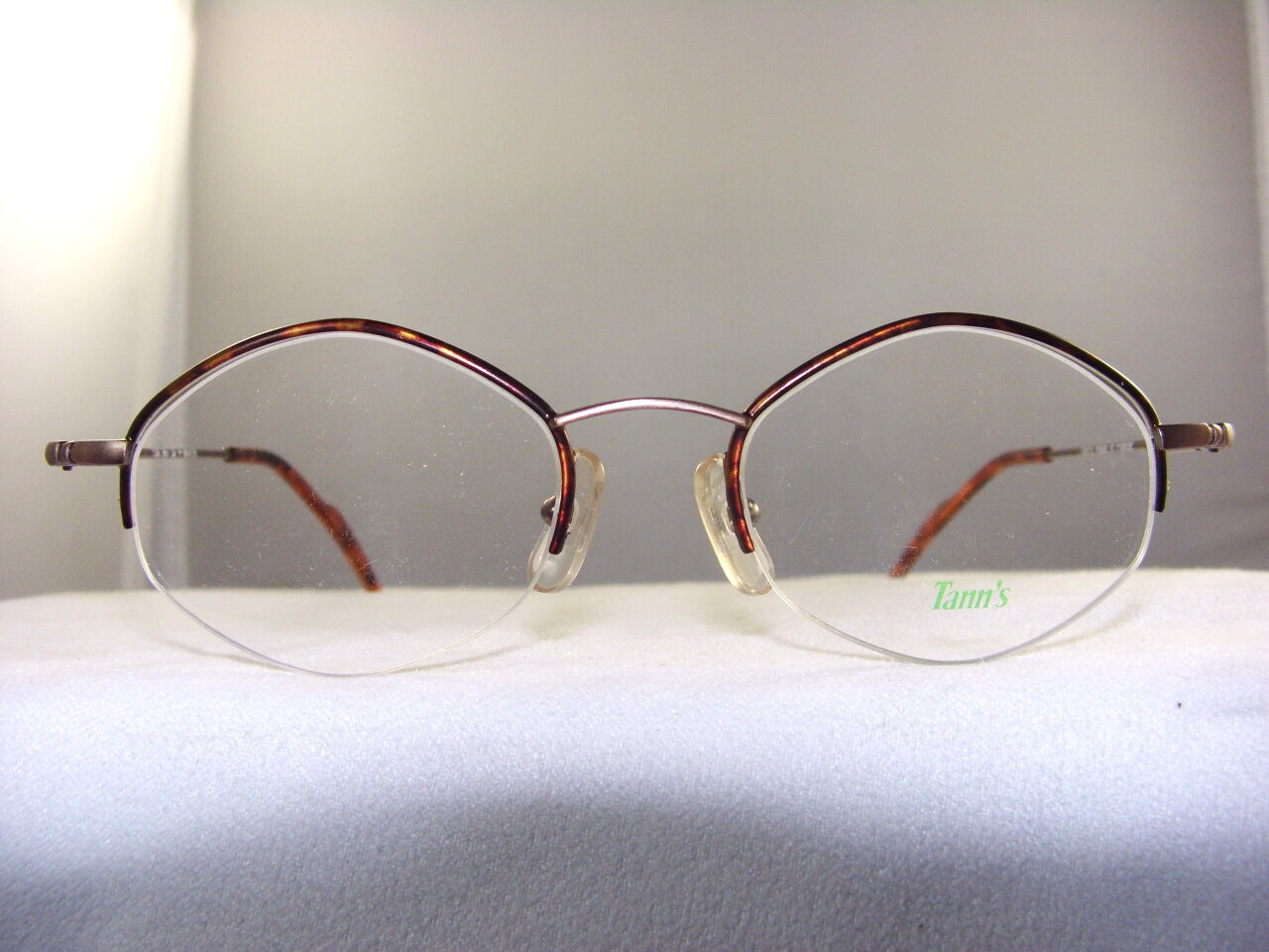 Eyeglass Frames Size 43 : TANNS 967 TORTOISE DIAMOND EYEGLASS FRAME SIZE 43-18 eBay