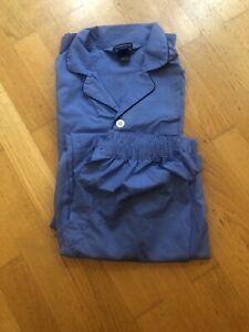 Mens-Van-Heusen-Blue-pyjamas-sleepwear-size-M