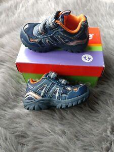 Stride Rite Toddler Boys Bronco Blue Orange Shoes Size 5.5 ...