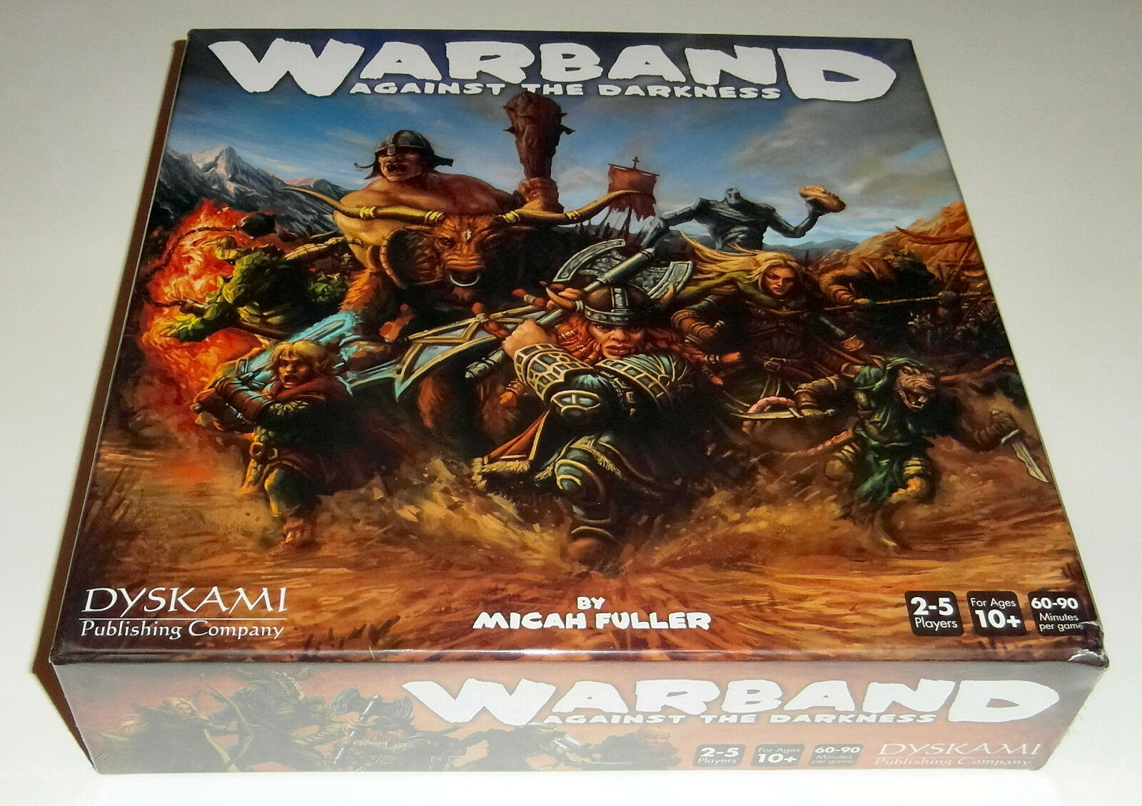 Warband  Against the Darkness - Dyskami Publishing Company - 2015