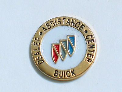 Buick Dealer Employee Assistance Mitte Pin, Vintage Auto Pins , ( ) Strong Resistance To Heat And Hard Wearing