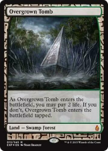 Overgrown Tomb 13//45 Zendikar Expeditions Near Mint MTG EXP 2B3