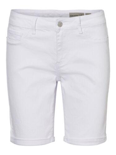 Vero Moda Damen Jeans-Shorts kurze Hose hellblau blau schwarz weiß XS S M L XL