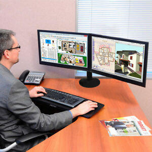 10-034-27-034-2-LED-Screen-Monitor-Bracket-Desk-Mount-Stand-LCD-Computer-Flat-Panels