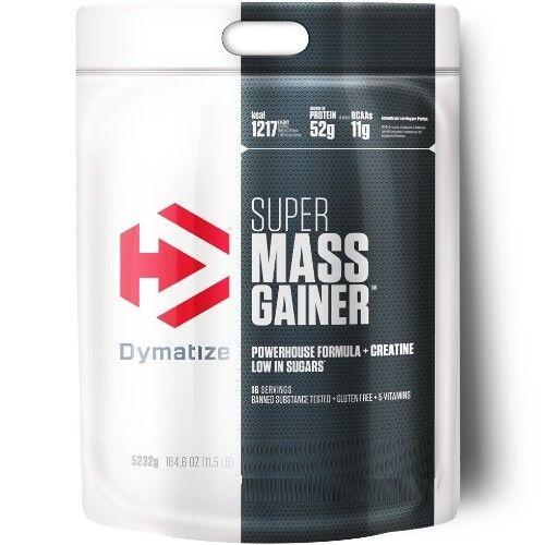 DYMATIZE Super Mass Gainer 5232g Top Muskelaufbau Protein Eiweiß Aminosäure