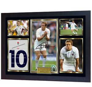Jonny-Wilkinson-signed-autographed-photo-print-Rugby-Union-FRAMED