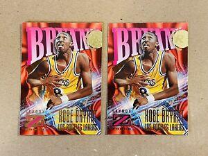Kobe Bryant 1996-97 Skybox Z-Force ZForce Rookie RC Lot x 2 #142