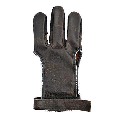 Bearpaw Bodnik Speed Glove Schießhandschuh für Bogen Bogensport aus Büffelleder