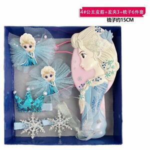 Cadeau de Noël Frozen 2 Elsa Princesse Bow mousseux Star filles enfants clips cheveux/UK
