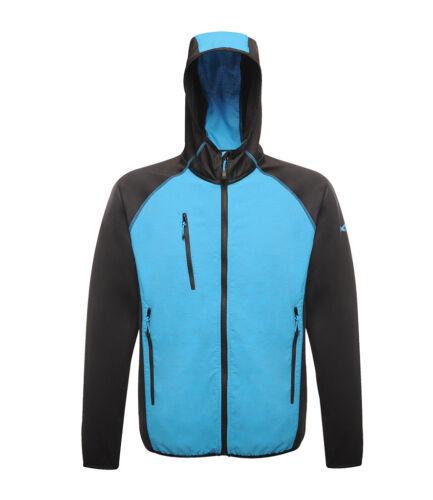 REGATTA X-PRO LUMEN Mens Reflective Stretch Soft Shell Hooded Showerproof Jacket