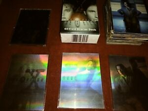 1996-X-FILES-COLLECTIBLE-CARD-GAME-60-CARD-STARTER-DECK-SET-FACTORY-SEALED