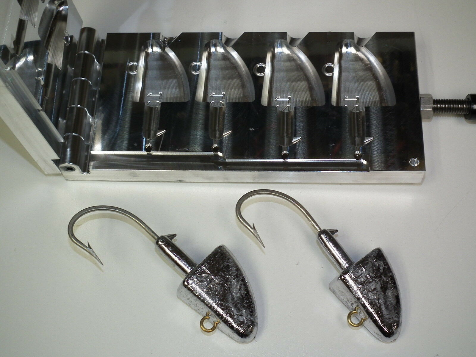 Saltwater Shad jig -3 mold 10,12oz CNC  Aluminum  offering store