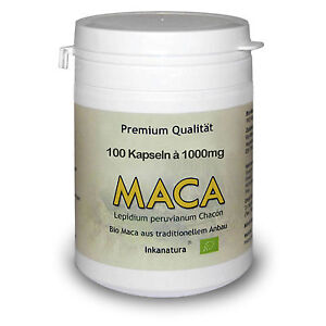 MACA-KAPSELN-BIO-100-Stk-a-1000mg-BIO-Maca-Wurzel-Pulver-in-Kapseln-PERU