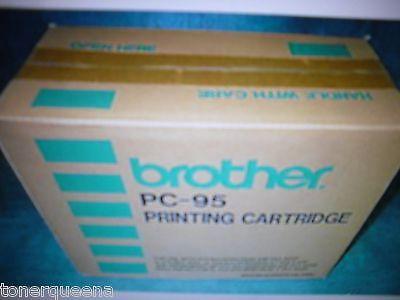 Refills Genuine 5PK Brother PC-91 PC91 PC 95 Fax Intelifax Cartridge New