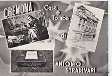 # CREMONA: CASA E TOMBA DI ANTONIO STRADIVARI   1964