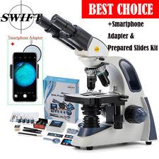Swift 40x 2500x Biological Microscopesmartphone Adapter66pcs Accessories Gift