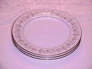 Noritake Fine China Andorra # 2182 Pattern Salad Plate Set