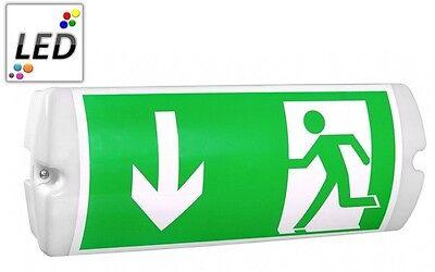 Notleuchte Notbeleuchtung Exit Notausgang Fluchtwegleuchte Notlicht 35