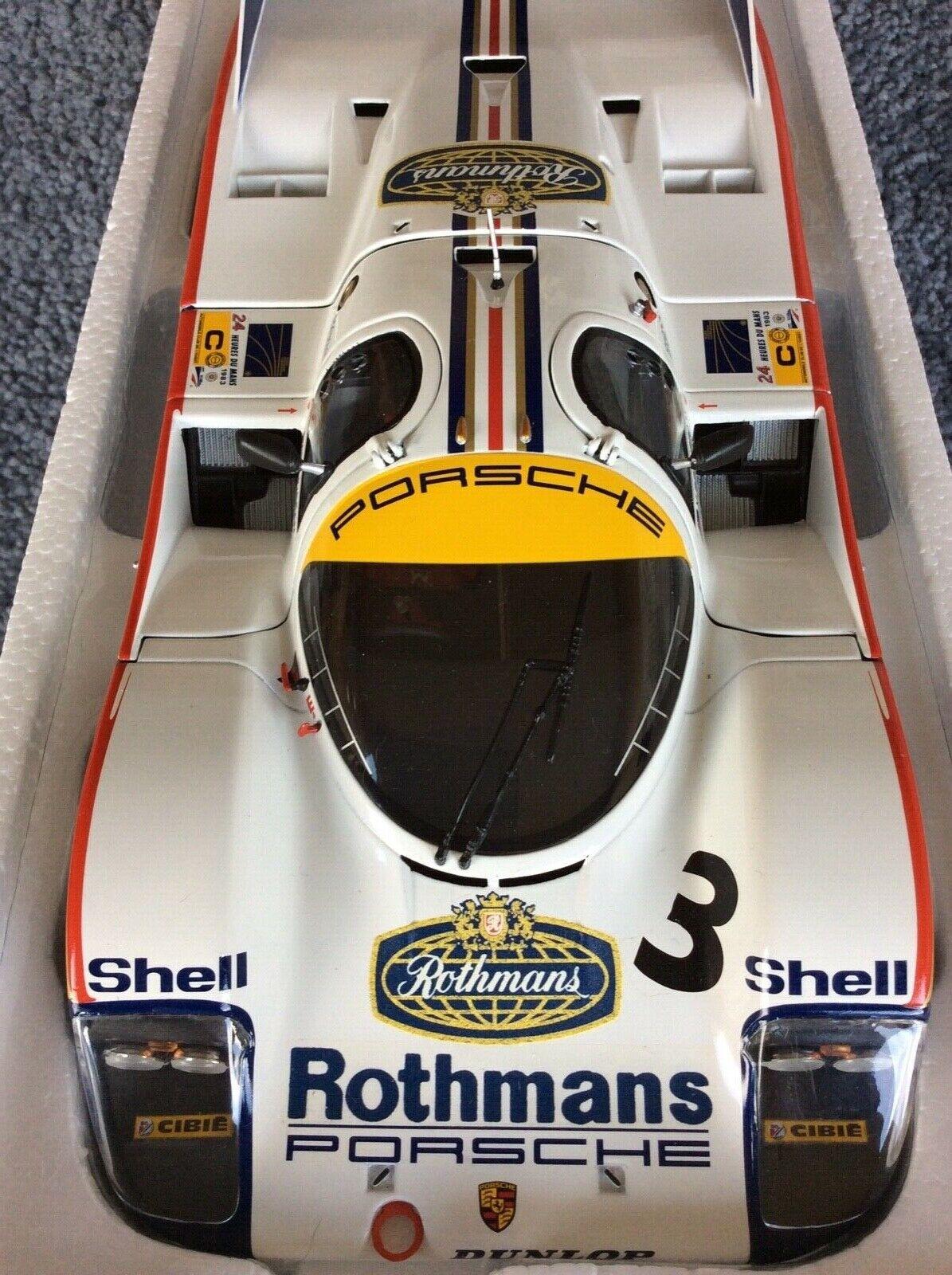 Minichamps 1 18 Porsche 956L redhmans 1st Le Mans 1983 Holbert Haywood Schuppan