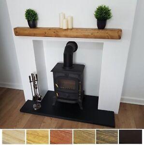 Mantel Shelf Wooden Beam 4x4 Pine Shelves Rustic Solid