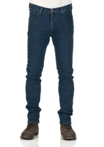 Blue Dark Stone Lee Men/'s Jeans Luke Slim Tapered Fit Dark Used