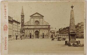 Italia-Florence-Foto-Brogi-PL17c2n31-Cartolina-Armadio-Vintage-Albumina