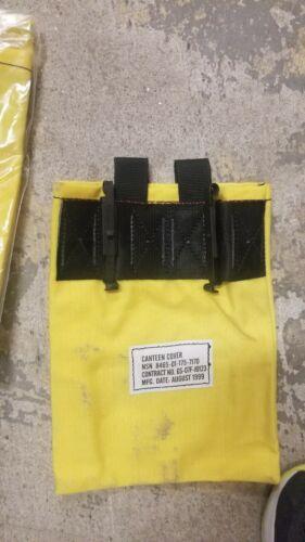 2 cantine bouteille d/'eau Jaune Pochette FSS Forest service incendie