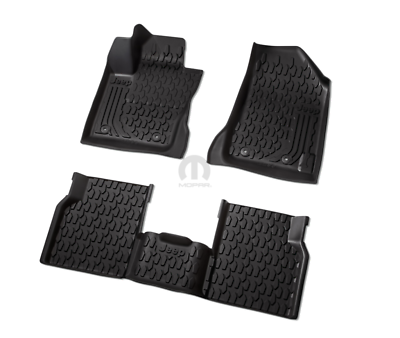 2017-2020 Jeep Compass Mopar All-Weather Floor Mats ...