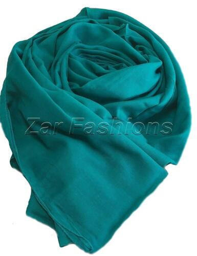 110 x 98 cm Extra Wide Luxury Quality Super Soft 100/% Cotton Scarves Hijab Scarf