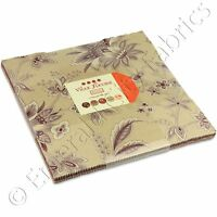 Moda French General Ville Fleurie Layer Cake 42 10 Quilting Quilt Squares Kit on sale