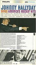 RARE / CD - JOHNNY HALLYDAY : SINGS AMERICA' S ROCKIN' HITS /COMME NEUF DIGIPACK