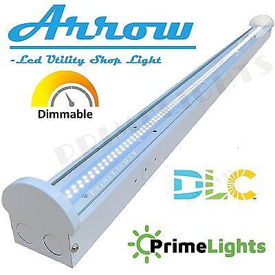 NEW LED Utility Shop Light 4/' Ft 44-Watts Instant-On 5,380 Lumens Garage Bright!