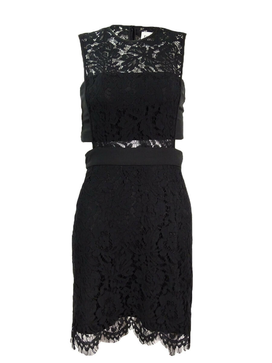 Fame and Partners Women's Two-Piece Lace Mini Dress