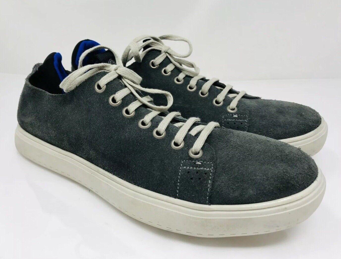 Donald J Pliner Men's Pierce Suede Sneaker Size 8M Grey, MSRP