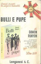 BULLI E PUPE - DAMON RUNYON