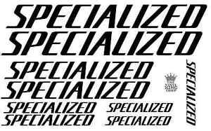 9-x-Specialized-Bike-Frame-vinyl-decal-Aufkleber-Cycle-Fahrrad-18-Farben-MTB