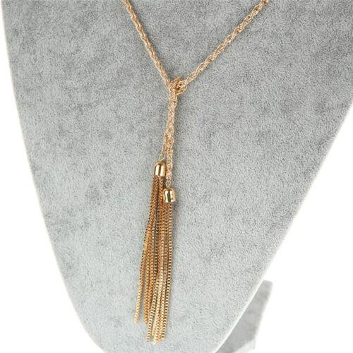Style Fashion Lady Pebble  Necklace Pendants Chunky Choker Charm Long Chain New