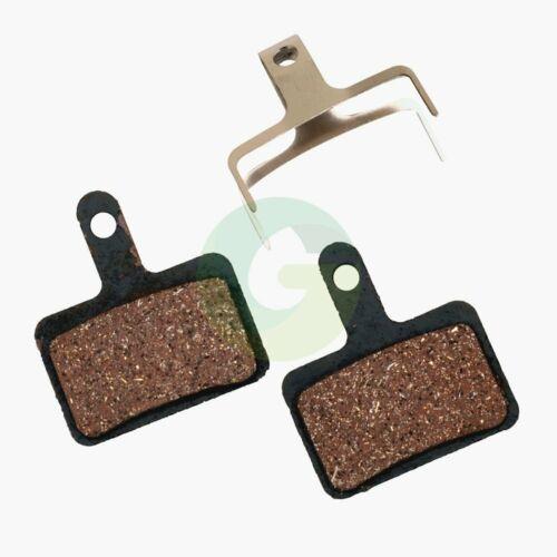 2 Pairs Organic Disc Brake Pads for Shimano Deore BR-M575 M525 M515 M495 M486