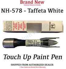 Genuine OEM Honda Touch-Up Paint Pen - Taffeta White (08703-NH578AH-A1)