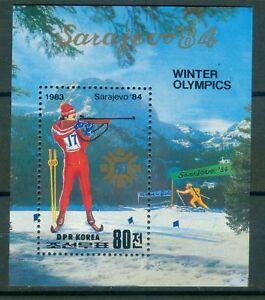 Korea-Block-149-Olympische-Spiele-1984