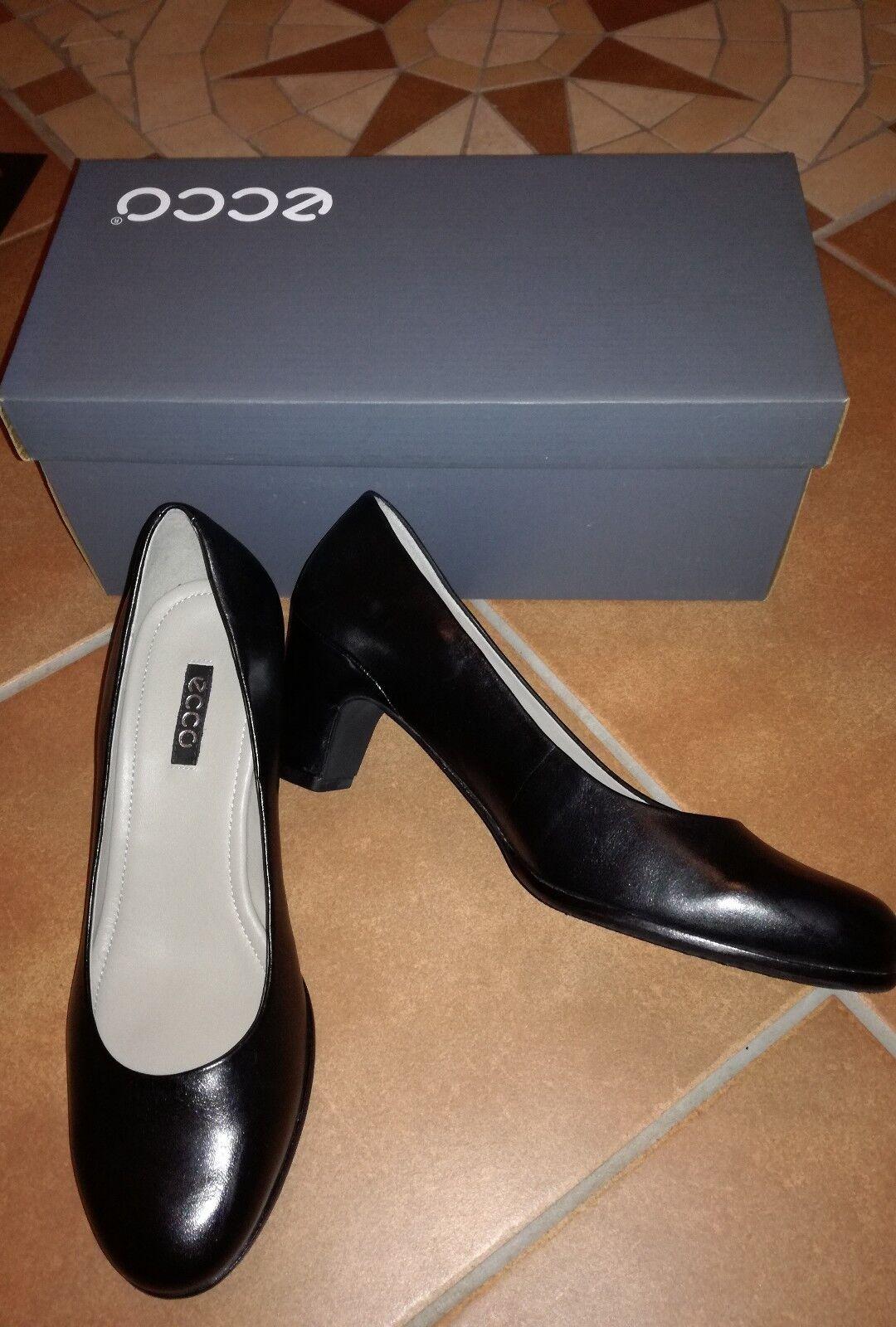 Ecco neu Pumps Schuhe Gr.38 Schwarz wie neu Ecco 904583