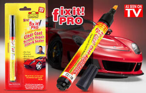 1 x diy car clear scratch remover touch up pens auto paint repair image is loading 1 x diy car clear scratch remover touch solutioingenieria Choice Image