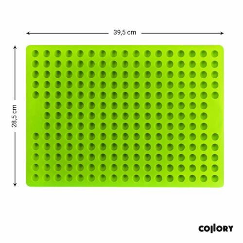 Collory Silicone backmatte 1.5 cm Hémisphère bakform chiens biscuits backunterlage chien