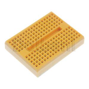 2pcs-26-01-0038-New-SYB-170-Solderless-170-Tie-Point-Yellow-Breadboard