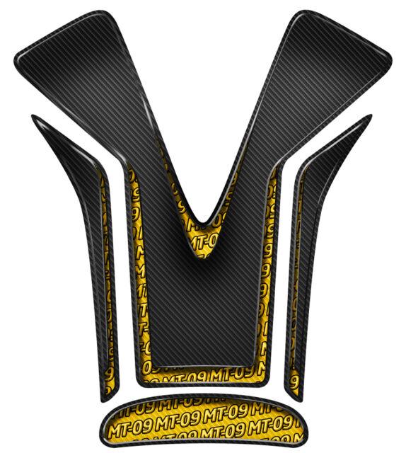 Pastilla Protección Depósito Yamaha MT 09 MT09 2014 2015 2016 Oro