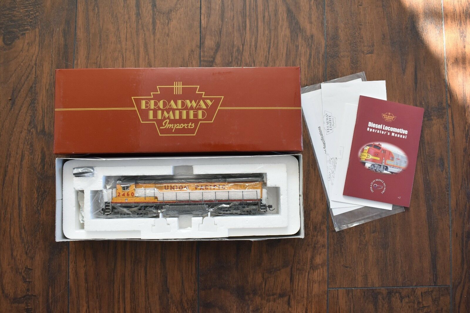 Broadway Limited Union Pacific GE C30-7 2 Window Locomotive HO NIB 488