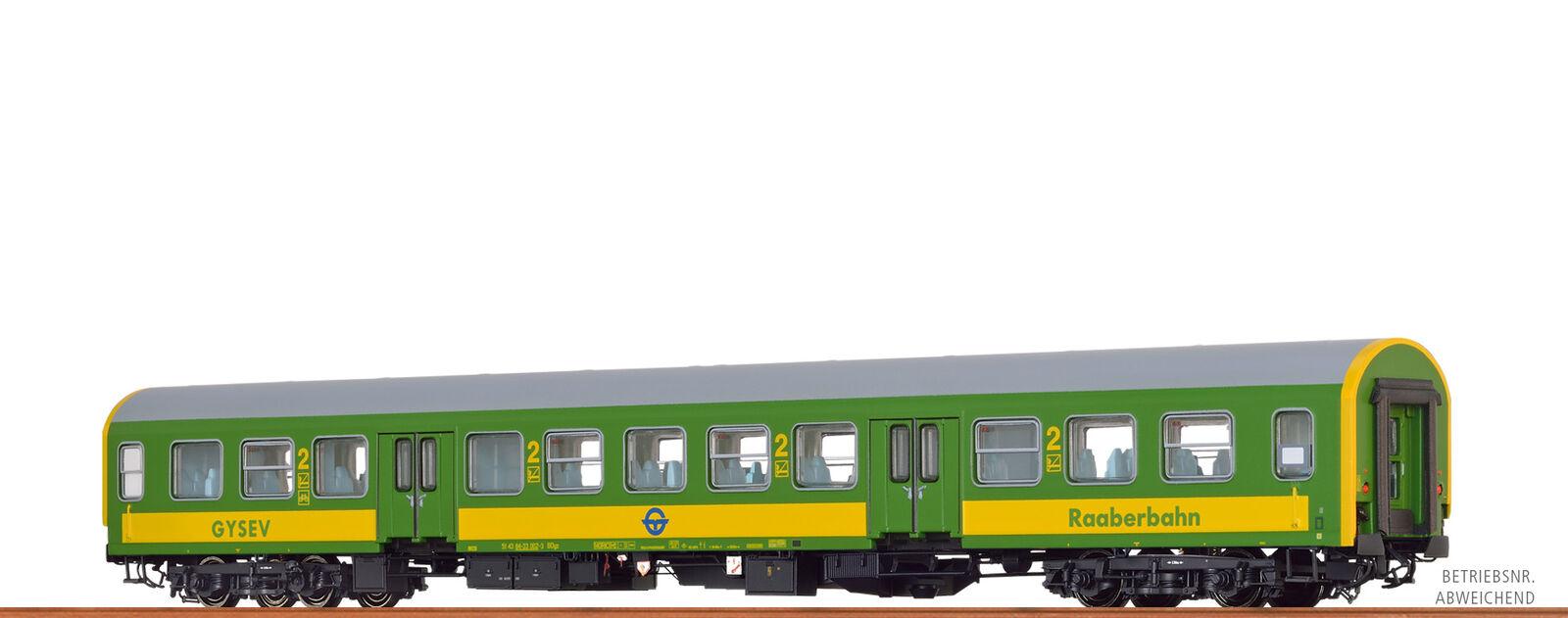 Brawa 46037 H0 Passenger Car Bdyz Gysev , VI Dc