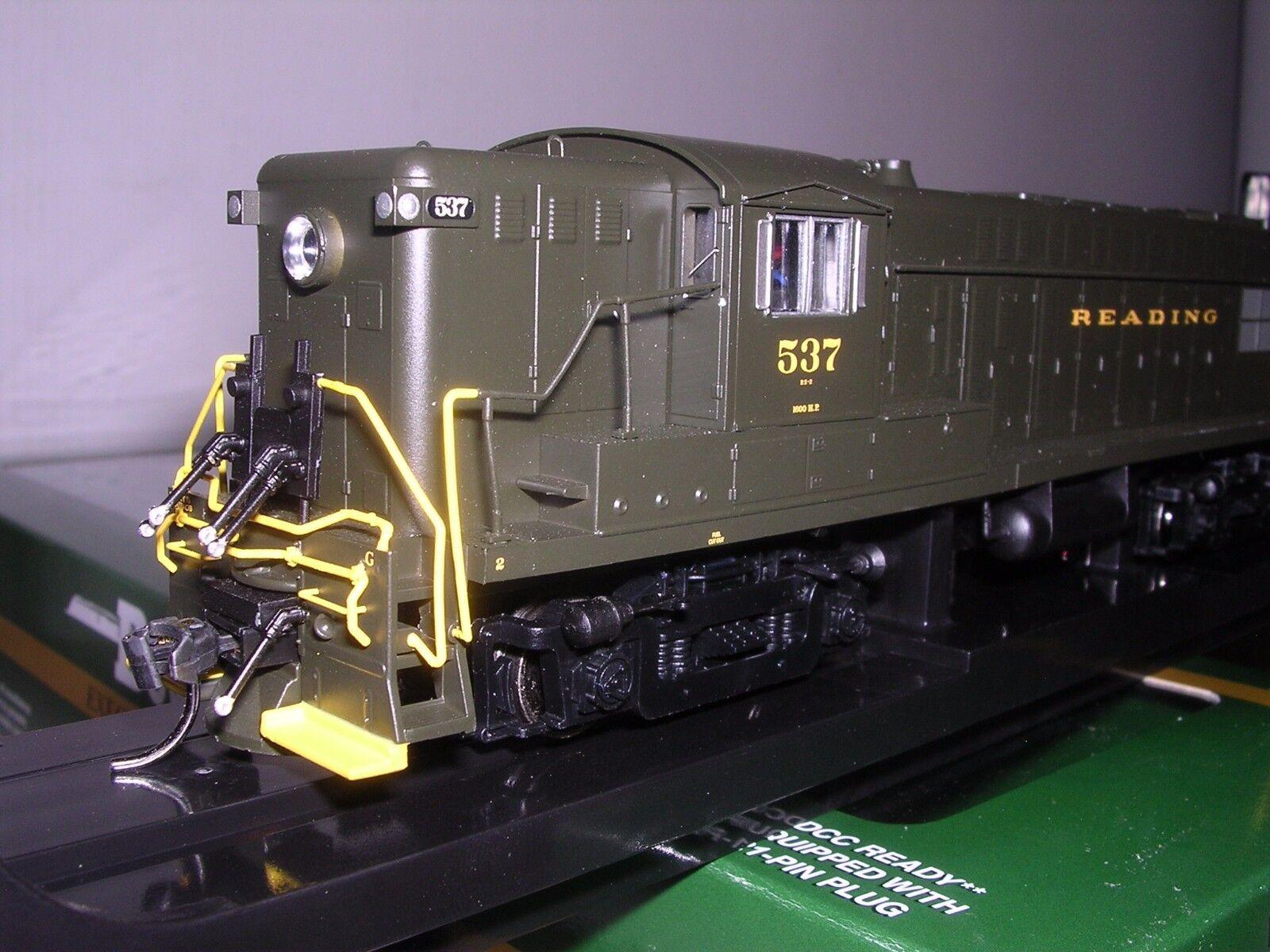 BOWSER  24376  Reading Baldwin AS-16 Diesel Loco  537 w/DCC & Sound H.O. 1/87