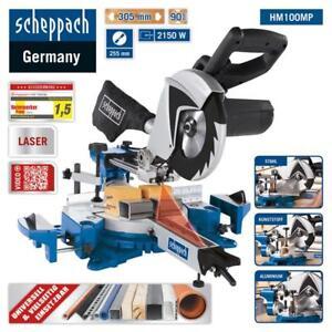 Scheppach-Multifunktions-Kapp-Zugsaege-HM100MP-Laser-Saegeblatt-255mm-2150W