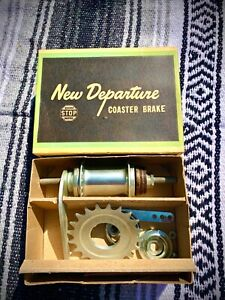 New Departure Model D 36 Hole Hub N.O.S. in Box 1950s